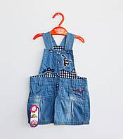 Модный джинсовый сарафан для девочки (1-2 года))