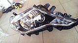 Передние фары на Toyota Land Cruiser Prado 150 рестайлинг AFS, фото 3