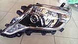 Передние фары на Toyota Land Cruiser Prado 150 рестайлинг AFS, фото 4