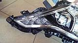 Передние фары на Toyota Land Cruiser Prado 150 рестайлинг AFS, фото 5