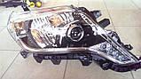 Передние фары на Toyota Land Cruiser Prado 150 рестайлинг AFS, фото 8