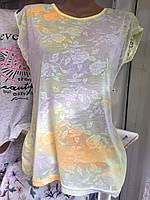 Женская футболка батал (Турция)