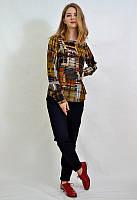 Строгая женская блузка, офисный стиль 6520 MEES Турция, фото 1