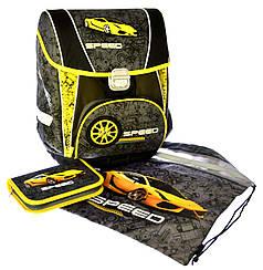 "Набор ""Speed"" ранец+пенал+сумка для обуви 1002889"