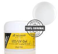 Гель All Season LED/UV GEL Self Leveling CLEAR 28 ml прозрачный