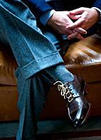 Какие мужские носки наилучше подойдут под классический костюм?