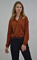 Модная женская рубашка узор пейсли MEES Турция, фото 1
