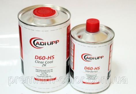 ADI UPP Прозорий лак D60HS (комплект: 1л.+0,5 л.)