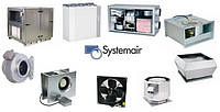 Бытовые и промышленные вентиляторы Systemair