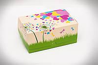 Упаковка для кусочков торта, пирожных и др. изделий, 120х180х80 мм