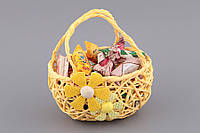 """Подставка для яиц и конфет """"Корзинка"""". Пасхальные сувениры"""