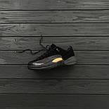 Мужские кроссовки Nike Air Jordan 12 Retro Low 'Black & M. Живое фото. Топ качество (Реплика ААА+), фото 3