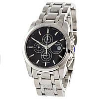 Наручные часы Tissot T-Classic Couturier Chronograph Steel Silver-Black