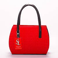 Восхитительная красная женская сумка art. 1334red