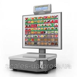 """Весы с печатью этикетки """"Штрих-ПРИНТ C"""" v. 4.5 (2 Мб) 120 клавиш."""