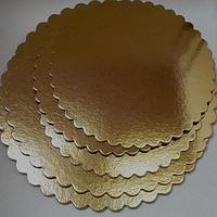 "Подложка  под торт ""Цветок"" D30cm (код 01673)"