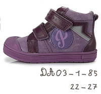 Ортопедические ботинки для девочки  22