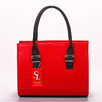 Нетразимая красная женская сумка art. 1343red
