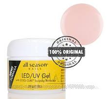 Гель All Season LED/UV GEL 28 ml прозрачно-розовый