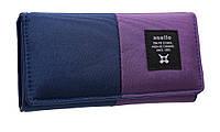 Модный женский кошелек 322 blue/purple