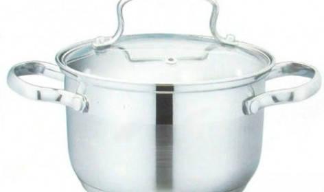 Кастрюля Giakoma G-2804, 22 см, 5.1L. Кухонная посуда, кастрюли Giakoma G-2804 , фото 2