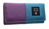 Модный женский кошелек 322 purple/blue