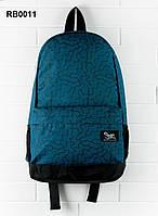 Рюкзак Staff 23 L print синие разводы
