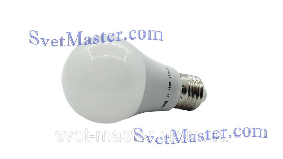 """Светодиодная Led лампа Premium, 7W Вт, E27, 6500K - Интернет-магазин осветительного оборудования """"Svet-Master"""" в Харькове"""