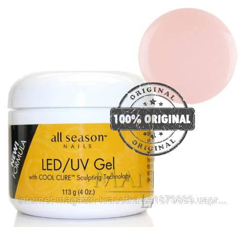 Гель All Season LED/UV GEL 113 ml прозрачно-розовый