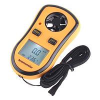 Анемометр GM8908 измеритель скорости потока воздуха