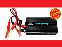 Преобразователь напряжения (инвертор)12-220V 1200W, фото 1
