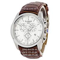 Наручные часы Tissot T-Classic Couturier Chronograph Brown-Silver-White