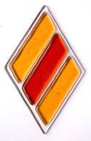 Фьюзинг декоративный элемент  DA 034.75х45 Евротех