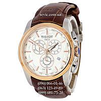 Наручные часы Tissot T-Classic Couturier Chronograph Brown-Gold-White