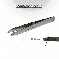 Пинцет Сталекс TBC-10/3 Beauty & Care 10 TYPE 3 (П-07) скошенный