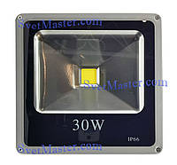 Прожектор светодиодный для улицы, 30 Вт, 220 В, IP66