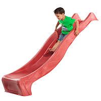 Горка детская для площадки. 3 м. KBT (Бельгия) - Красная