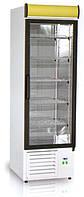 Холодильный шкаф EWA 500л 1(двери стекло), компрессор снизу)