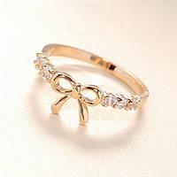 Женское кольцо Бант