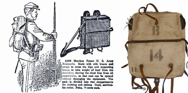 Первый американский рюкзак