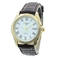 Наручные часы Tissot Quartz 1853-1 Brown-Gold-White