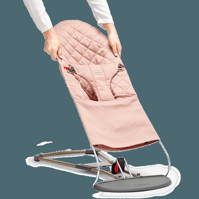 BABYBJORN - Сменный текстиль для шезлонга, цвет нежно-розовый. Хлопок