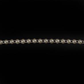 Лента арт. 199 полужемчуг на нитке D 5 мм, фото 2