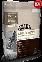 Acana Light & Fit корм для собак с избыточным весом, 11.4 кг