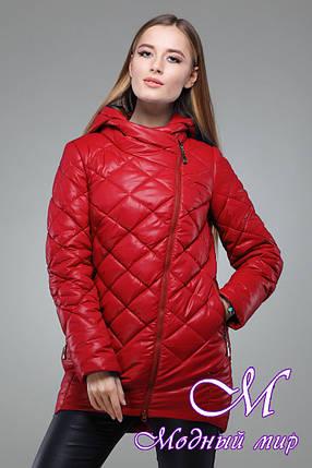 Женская удобная весенняя куртка больших размеров (р. 42-54) арт. Дилия, фото 2