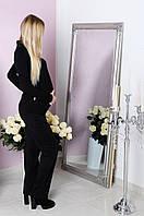 Штаны для беременной трикотажные, черный