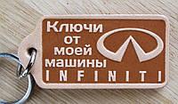 Брелок для ключей INFINITI , фото 1