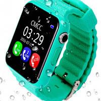 UWatch Детские часы Smart GPS V7K Mint