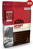 Acana Adult Sport & Agiliti корм для активных собак всех пород, 17 кг