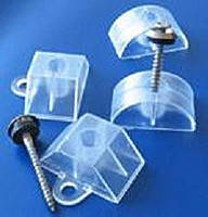 Крепеж пластикового шифера